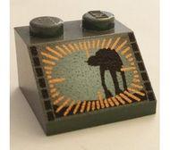 3039pb002-11g Dakpan bedrukt 45 2x2 met droid Zwart gebruikt loc