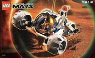 Set 7312 BOUWBESCHRIJVING-  Life on Mars: T3 trike Mars gebruikt loc