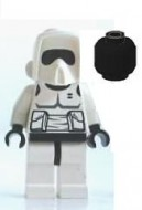sw005a Star Wars- Scout Trooper NIEUW loc