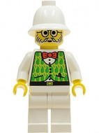 adv026G Dr. Kilroy - groene Vest, witte benen gebruikt *0M0000