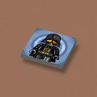 CUS3058 Tegel 2x2 Ame72 Darth Vader grijs, donker (blauwachtig) NIEUW *0A000