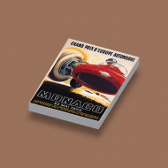 CUS3072 GP Monaco 1955 wit NIEUW *0A000