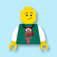 CUS9064 Torso (zonder hoofdje) Foute kersttrui Rendier 2 *0A000