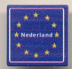 CUSE8189 Tegel MET CLIP Welkomstbord NEDERLAND *0A000
