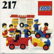 INS217-G 217 BOUWBESCHRIJVING Service Station gebruikt *