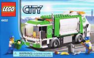 INS4432-G 4432 BOUWBESCHRIJVING- Vuilniswagen (1) gebruikt *LOC BE