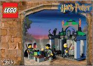 INS4735-G 4735 BOUWBESCHRIJVING- Harry Potter- Slytherin gebruikt *