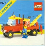 INS6674-G 6674 BOUWBESCHRIJVING- Crane Truck gebruikt *LOC M3