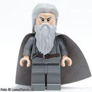 lor073 LOR: Gandalf the Gray (haar en cape) NIEUW *0M0000
