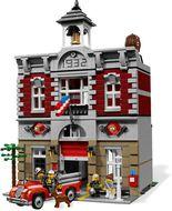 Set 10197 - Modular Buildings: Fire Brigade- gebruikt