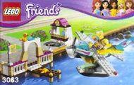 Set 3063 - Friends: Heartlake Flying Club- Nieuw