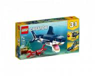 Set 31088-GB Deep Sea Creatures gebruikt deels gebouwd *B036