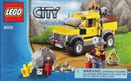 Set 4200 BOUWBESCHRIJVING- Minig 4x4 Auto gebruikt loc