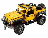 Set 42122-GB Jeep Wrangler gebruikt deels gebouwd *B036