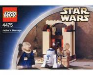 Set 4475 Jabba's Message deuk in doos gebruikt D/H/M/97%