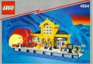 Set 4554 BOUWBESCHRIJVING- Metro Station Treinen gebruikt loc
