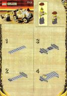 Set 5918 BOUWBESCHRIJVING- Scorpion Tracker Adventures gebruikt loc