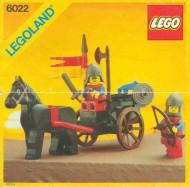 Set 6022 BOUWBESCHRIJVING- Lion Knights gebruikt loc LOC M2