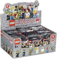Set 6029133 COMPLETE DOOS 60 Minifigs serie 9 NIEUW loc