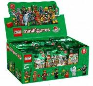 Set 6059152 COMPLETE DOOS 60 Minifigs serie 11 NIEUW loc