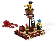 Set 6240-G - Pirates: Kraken Attackin' D/H/C 97-100%- gebruikt