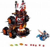 Set 70321G - Nexo knights: General Magmar's Siege Machine of Doom geen doos I/97%- gebruikt