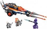 Set 70348-G - Nexo knights: Lance's Twin Jouster geen doos I/97%- gebruikt