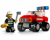 Set 7241-G Fire Car gebruikt
