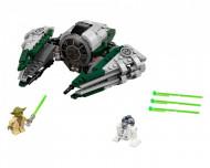Set 75168-GB Yoda's Jedi Starfighter gebruikt deels gebouwd *B036