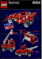 Set 8064 BOUWBESCHRIJVING- Universal motor set 9V  gebruikt loc