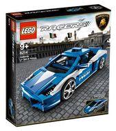 Set 8214 - Racers: Lamborghini Gallardo LP 560-4 Polizia- Nieuw