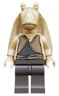 sw0017G Star Wars:Jar-Jar Binks (grijs vest) gebruikt loc