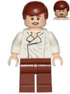 sw612 Star Wars: Han Solo, roodbruine benen zonder holster NIEUW loc
