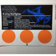 10227stk01 STICKER B-wing Starfighter NIEUW *0S0000