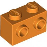 11211-4 Steen 1x2 met noppen aan één zijde oranje NIEUW *1L2-13
