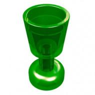 2343-20 Bokaal transparant groen NIEUW *0L0000