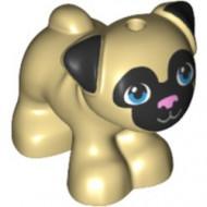 24111pb01-2 Hond, bulldig puppy crème NIEUW *0D000