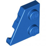 24299-7 Wig plaat 2x2 links blauw NIEUW *1L221+2