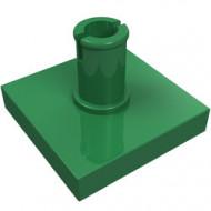 2460-6 Tegel 2x2 met pin groen NIEUW *1L0000