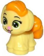 24880pb01-110 Hondje Rapunzels puppy Geel, lichthelder NIEUW loc
