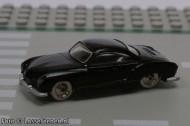 265pb01-11G Karmann Ghia als nieuw zwart gebruikt *