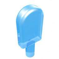 30222-74 IJsje/Popcorn schep transparant middenblauw NIEUW *0L0000