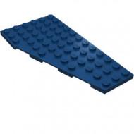 30356-63 Vleugel 6x12 RECHTS af korte basis gezien (3 noppen naar 6 noppen) blauw, donker NIEUW *5G0000