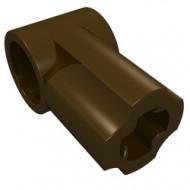 32013-120 Technic, Hoekverbinding #1 bruin, donker NIEUW *0B016/D10