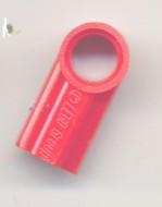 32013-5 Technic, Hoekverbinding #1 rood NIEUW *0B016/D10