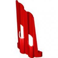 32188-5G Technic, Sierpaneel # 3 Large Long, Large Holes, Side A rood gebruikt *4T070