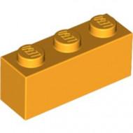 3622-110 Steen 1x3 oranje, lichthelder NIEUW *1L010