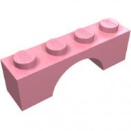 3659-23G Steen, boog 1x4x1 hoog roze (klassiek) gebruikt *