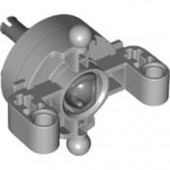 46490c01-86 Technic, Besturing - Stuuras met 2 pingaten en 2 kogels met wielhub grijs, licht (blauwachtig) NIEUW *0L0000