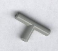 4696a-9G Pneumatica- T-stuk lichtgrijs (klassiek) gebruikt *0L0000